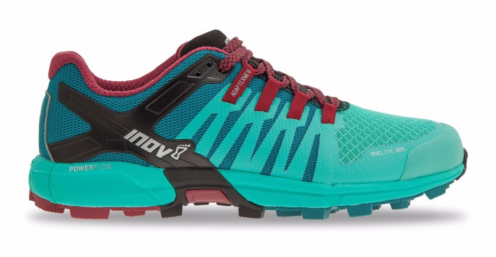 INOV-8 ROCLITE 305 (M) Teal Dark Red Black 67c8963a1c