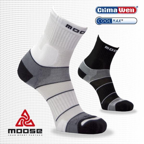 MOOSE Běžecké ponožky MOTION Black 8eaed9f067