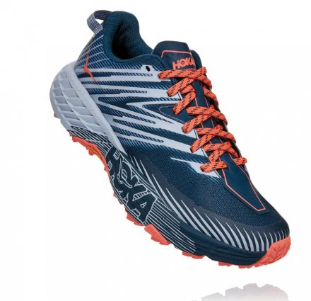 HOKA SPEEDGOAT 4 WIDE W Majolica Blue/Heather