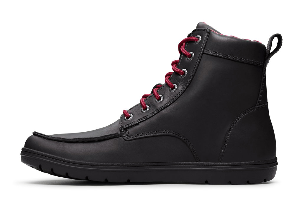 LEMS BOULDER BOOT LEATHER Raven new