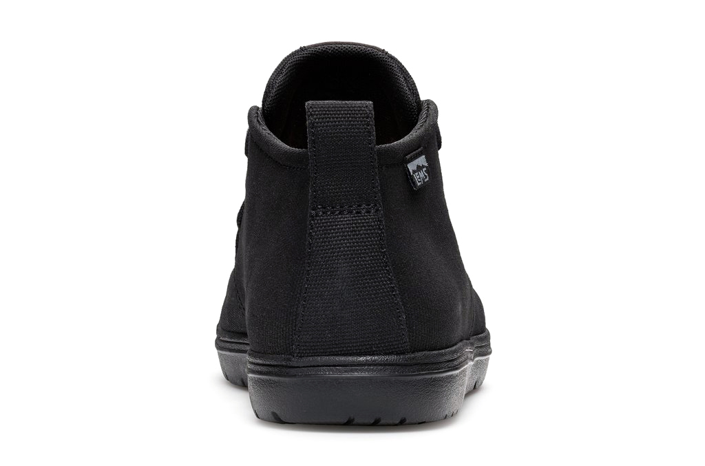 LEMS CHUKKA CANVAS Blackout NEW