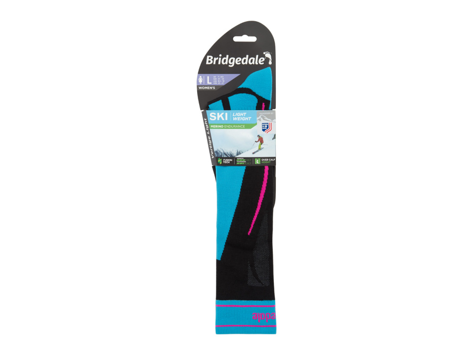 BRIDGEDALE SKI LIGHTWEIGHT W Black/Blue