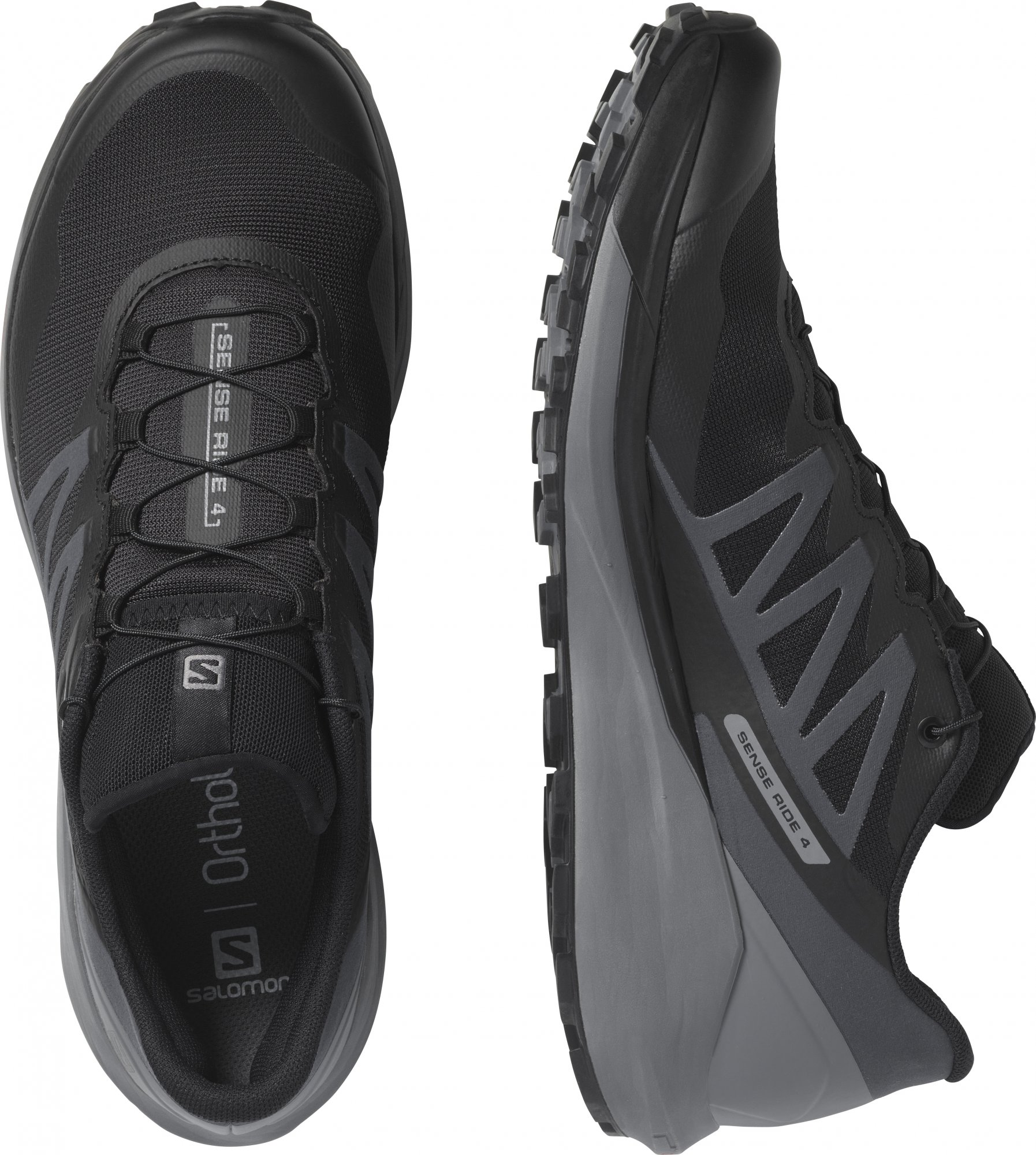 SALOMON SENSE RIDE 4 Black/QuSh/Ebony