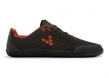 VIVOBAREFOOT STEALTH M BR Black/Red