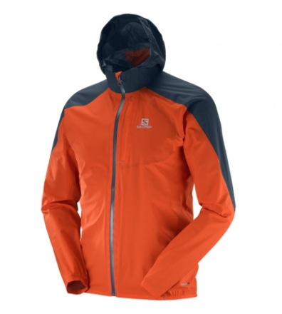 SALOMON BONATTI WP JKT M Vivid Orange