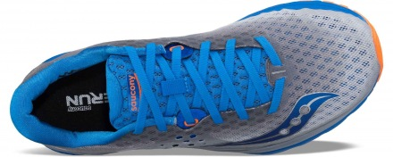 SAUCONY Kinvara 8 Grey/Blue/Orange