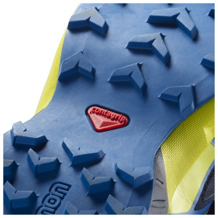 SALOMON SPEEDCROSS J Blue/Sulphur