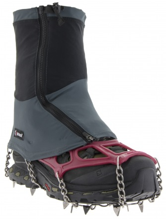 KAHTOOLA CONNECT GAITER MID Gray/Charcoal