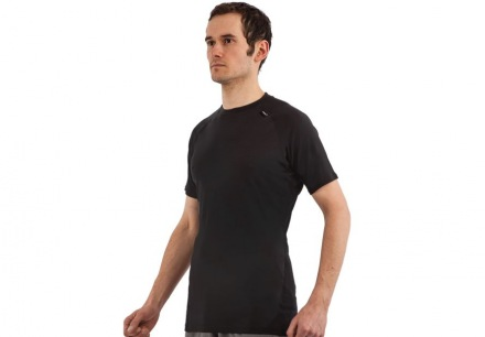 INOV-8 AT/C SS MERINO BASE LAYER M Black