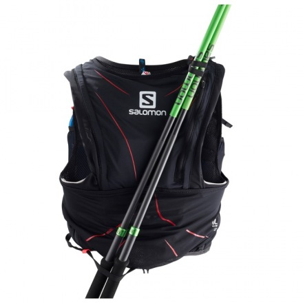 SALOMON BAG ADV SKIN 12 SET Black/Matador