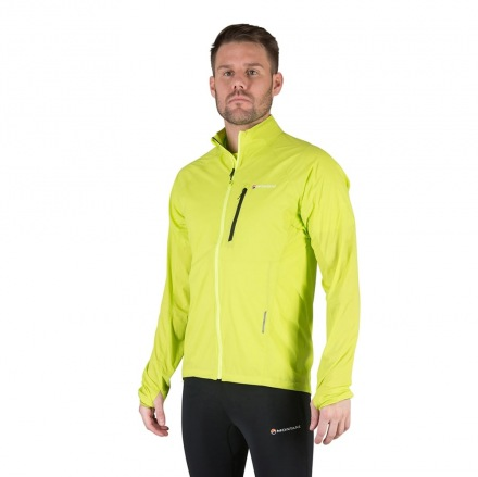 MONTANE FEATHERLITE TRAIL JACKET Laser Green