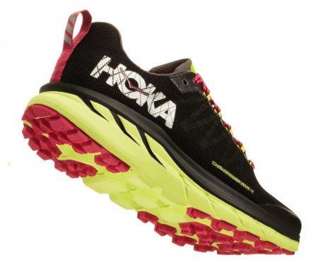 HOKA CHALLENGER ATR 4 Black/Sharp Green
