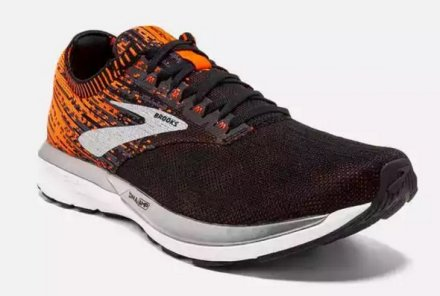 BROOKS RICOCHET Black/Orange/Ebony