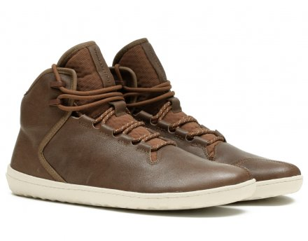 VIVOBAREFOOT BOROUGH M LEATHER BROWN