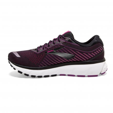 BROOKS Ghost 12 W Black/Hollyhock/Pink