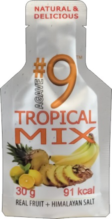 AGAVE #9 ENERGY GEL Tropical mix