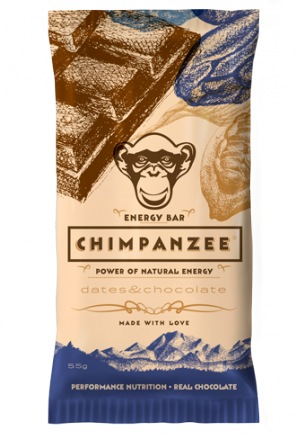 CHIMPANZEE ENERGY BAR Dates & Chocolate