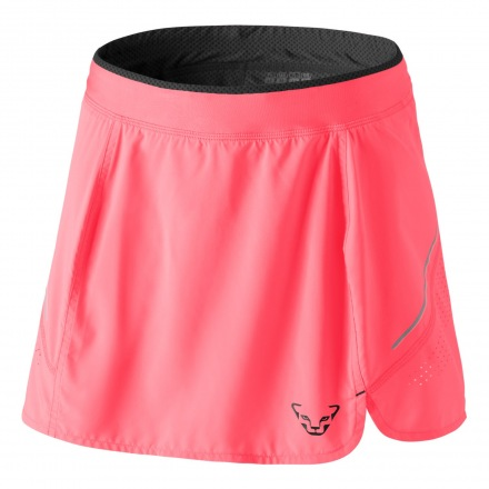 DYNAFIT ALPINE PRO 2IN1 SKIRT WOMEN Fluo Coral
