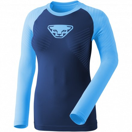 DYNAFIT SPEED DRYARN WOMEN LONGSL Methyl Blue