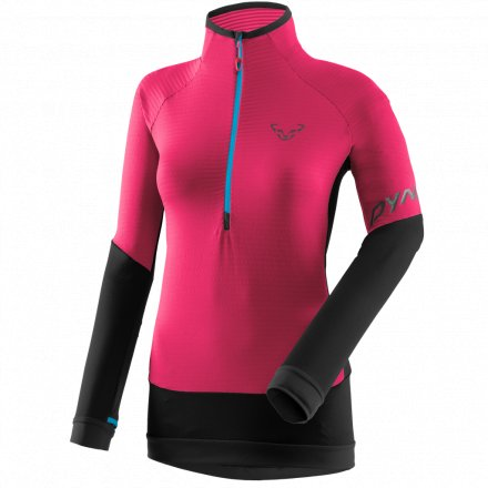 DYNAFIT TLT LIGHT THERMAL W LONGSLEEVE Lipstick