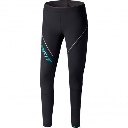 DYNAFIT WINTER RUNNING TIGHTS WOMEN Grey asphalt