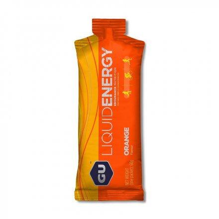 GU Liquid Energy Gel 60 g - orange 1 SÁČEK