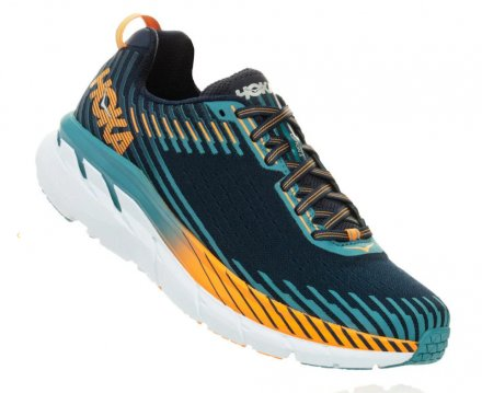 HOKA CLIFTON 5 Black Iris/Storm