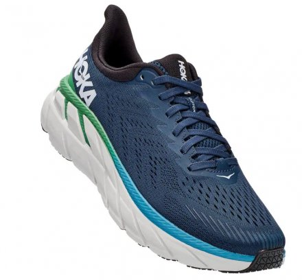 HOKA CLIFTON 7 WIDE Moonlit Ocean/Anthracite