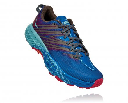 HOKA SPEEDGOAT 4 W Imperial Blue/ Pink Peacock
