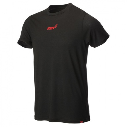 INOV-8 AT/C TRI BLEND TEE SS STRIP Black/Red