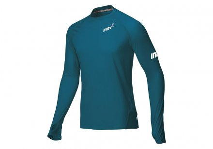 INOV-8 BASE ELITE LONG SLEEVE BASE LAYER M Blue/Green