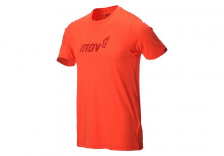 INOV-8 TRI BLEND TEE 'DIVISION' M Red