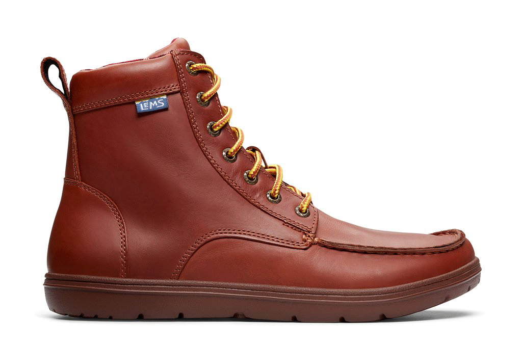 LEMS BOULDER BOOT LEATHER Russet new