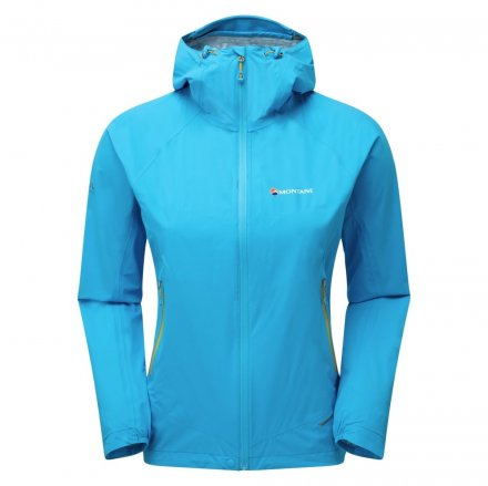MONTANE WOMENS MINIMUS STRETCH ULTRA JACKET Blue