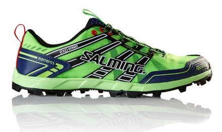 SALMING ELEMENTS M Gecko Green/Navy 1