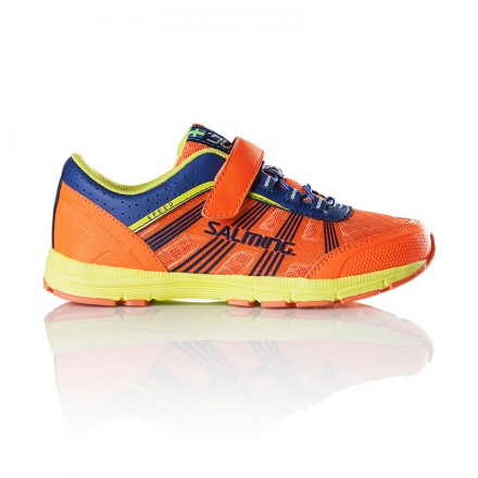 SALMING SPEED SHOE Laces Shocking Orange