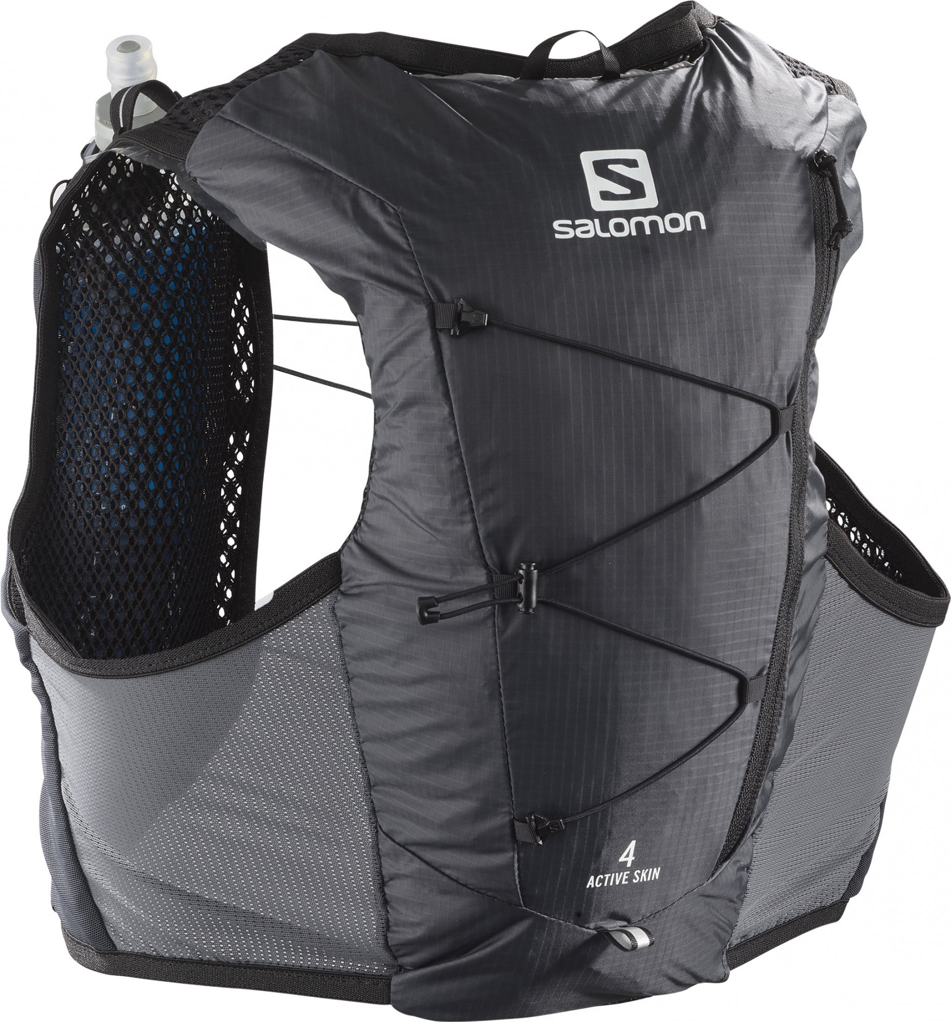 SALOMON ACTIVE SKIN 4 SET EBONY/BLACK