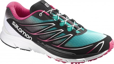 SALOMON SENSE MANTRA 3 W Peacock Blue/White/Hot Pink