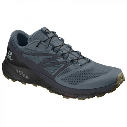 SALOMON SENSE RIDE 2 Stormy Weather/Ebony/Black