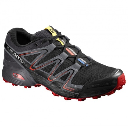 SALOMON SPEEDCROSS VARIO Black/Magnet/Fiery Red