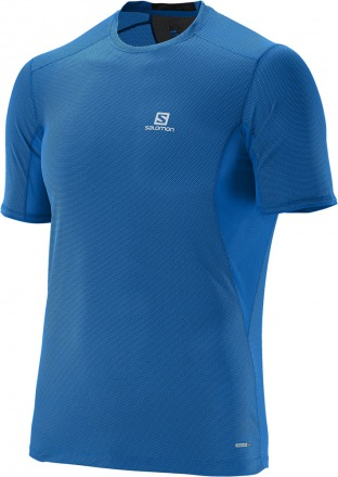 SALOMON TRAIL RUNNER SS TEE M Union Blue