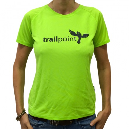 TRIČKO TRAILPOINT GIRLS - Light Green