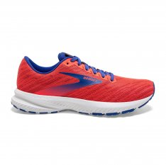 BROOKS Launch 7 W Coral /Claret/Blue