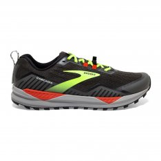 BROOKS Cascadia 15 Wide Black/Raven/Cherry Tomato