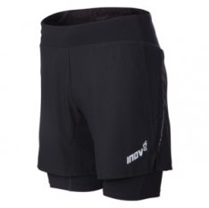 INOV-8 7 TRAIL SHORT Black