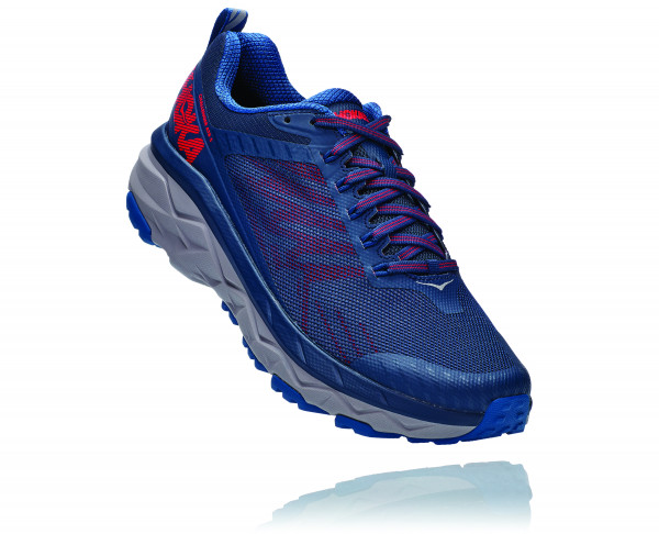 HOKA CHALLENGER ATR 5 Dark Blue/High Risk Red