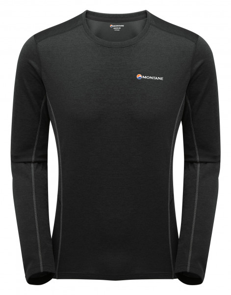 MONTANE DART LONG SLEEVE T-SHIRT BLACK