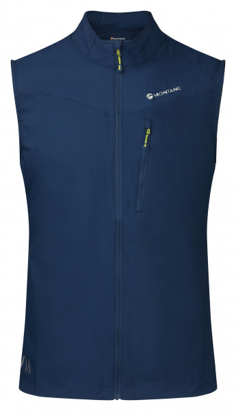 MONTANE FEATHERLITE TRAIL VEST FLAG NARWHAL BLUE