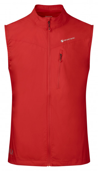MONTANE FEATHERLITE TRAIL VEST FLAG RED