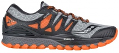 SAUCONY XODUS ISO Grey/Orange/Black